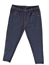 Winterleggings Thermo-Leggings Jeans-Jeggings Teddyfutter Gr.42/44 46/48 50/52