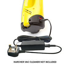 Window Cleaner Vac Vacuum Battery Charger Power Lead Supply for Karcher WV55R