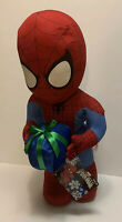 """New 23"""" Tall Huge Ultimate Spider Man Christmas Holiday Hero Greeter Plush Doll"""