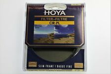Hoya 72 Mm Filtre polarisant circulaire-cadre fin * Vendeur Britannique *