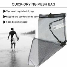 Quick Dry Mesh Bag Dive Equipment Bag Drawstring Type Storage Bag Net Bag KW