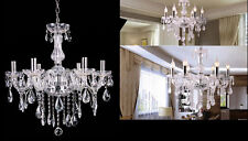 Vintage Ceiling lights Lamp lighting Fixture Crystal Chandelier W/6 Arms Pendant