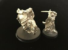 LOTR Games Workshop Aragorn Foot and Mounted King of Gondor METAL GW Hobbit