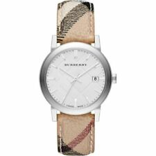 Burberry BU9025 Heritage Check Stainless Steel 38mm Women's Watch