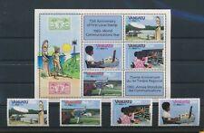 LN89734 Vanuatu 1983 communications year fine lot MNH