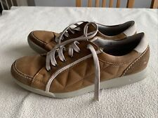 Men's Hotter Comfort Concept Brown Leather Shoes Size Uk 9.5