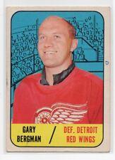 1X GARY BERGMAN 1967 68 Topps #47 DETROIT RED WINGS