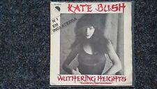 Kate Bush - Cumbres borrascosas (Wuthering heights) 7'' Single SPAIN