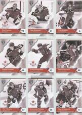 2018-19 SeReal Card KHL CSKA Moscow complete set of 18 cards