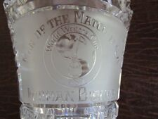 ONE OF A KIND Waterford Trophy Furman Bisher World Writers' Cup  1989  Man Match