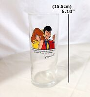 Japan anime Lupin the Third Original Glass VINTAGE RARE FIND