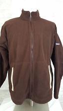 PATAGONIA Mens SIZE M Fleece Synchilla Sweater Full Zipper Jacket Brown