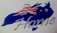 '5 Star Home' Australian Made Flag Southern Cross Aussie Pride Sticker Souvenir