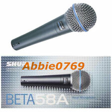 Shure Beta 58 A Dynamic Microphone Cable Professional Microphone Audio Equipment