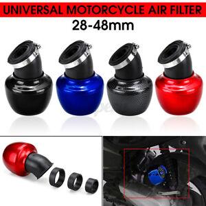 28-48mm Motorcycle Air Intake Filter Universal Cleaner for Honda Yamaha