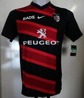 TOULOUSE RUGBY 2011/12 HOME SHIRT BY NIKE SIZE X-SMALL BOYS BRAND NEW WITH TAGS