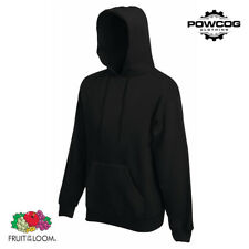 Fruit of The Loom Classic Plain Hooded Sweatshirt Hoodie | 20 COLOURS | S - 2XL
