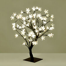 LED Sakura Tree 72 Fairy Lights Cherry Blossom Tree Bonsai Table Bedside Lamp