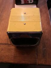 Vintage Fort Howard Paper Company Tidynap dual sided Napkin dispenser Yellow