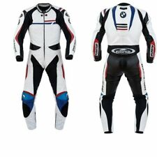 BMW MOTORBIKE RACING LEATHER SUIT CE APPROVED