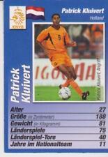 Bravo Sport EM Quartett / Tradingcard Patrick Kluivert Holland 2004