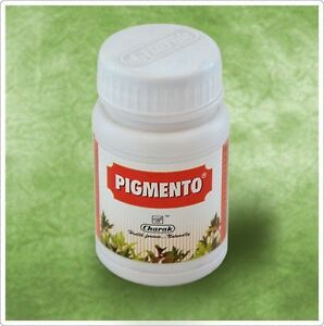 10X Charak Pigmento Tablet 40 Tablets FREE SHIPPING