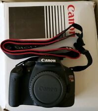 Canon 550D / EOS Rebel T2i DSLR Camera with lens.
