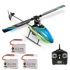WLtoys V911S Non-aileron 2.4G 4CH 6G RC Helicopter Airplane w/ 3 Batteries Gifts