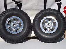 Mini Bike Wheel Kit RIM SPOKE ALLOY with disc brake  CARLISLE 530 6 NHS TIRES !!