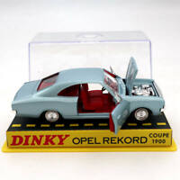Atlas 1/43 Dinky Toys 1405 Opel Pekord Coupe 1900 Diecast Models Car Collection