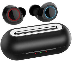 Wireless Earbuds Bluetooth 5.0 Earphones In Ear Stereo Wireless Headphones Black