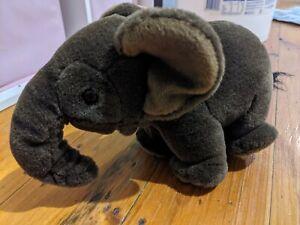 Hansa Baby Elephant Plush Toy Brown 24cm
