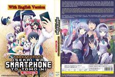 ANIME DVD~ENGLISH DUBBED~Isekai Wa Smartphone To Tomo Ni(1-12End)FREE SHIP+GIFT