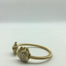 Lilly Pulitzer Gold-Tone Elephant Bangle Bracelet