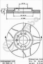 Bremsscheibe (2 Stück) BREMBO MAX - Brembo 09.7629.75
