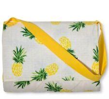Pineapple Picnic Blanket Seats 2-4 Machine Washable