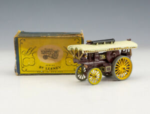 Matchbox Lesney Models Of Yesteryear No.9 Fowler Showman's Steam Engine - Boxed