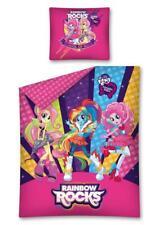 Equiestra Girls  My little Pony bedding Set 160x200 cm junior bed -Rainbow Rocks