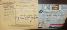 O) 1939 ARGENTINA, CRASH COVER -FALLEN LETTER FALLING-CORRESPONDENCE DELAYED BY