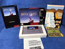 Final Fantasy: Mystic Quest (Super Nintendo Entertainment System, 1992) Complete