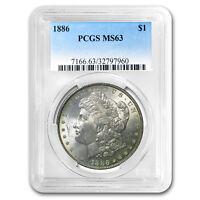 1878-1904 Morgan Dollars MS-63 PCGS (Toned, Obv/Rev) - SKU#92597