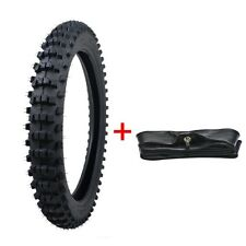 """70/100- 17"""" inch Front Knobby Tyre Tire +Tube PIT PRO Trail Dirt Bike"""