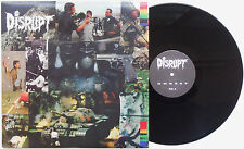"Disrupt - Unrest LP + BONUS 12"" EP 2002 SWEDEN PRESS Grief State Of Fear Crust"