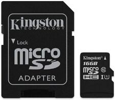 Kingston Canvas Select 16GB microSDHC Class 10 microSD Memory Card UHS-I 80MB/s