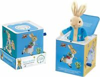 Rainbow Designs PETER RABBIT MUSICAL JACK IN THE BOX Toy/Fun Toddler/Child BN
