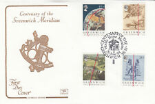 (10455) GB Cotswold FDC Greenwich Meridian 26 June 1984