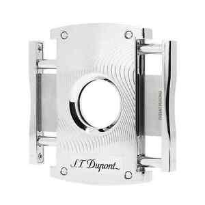 S.T. Dupont Maxijet Cigar Cutter Chrome Grey Vibration (003410)