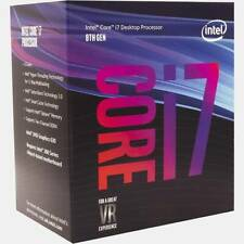 Intel Core i7-8700 Coffee Lake Processor 3.2GHz 8.0GT/s 12MB LGA 1151 CPU,