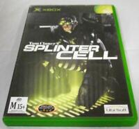 Tom Clancy's Splinter Cell XBOX Original PAL *Complete*