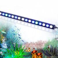 108W led aquarium light strip bar white&blue spectrum fish Marine Reef Coral SPS